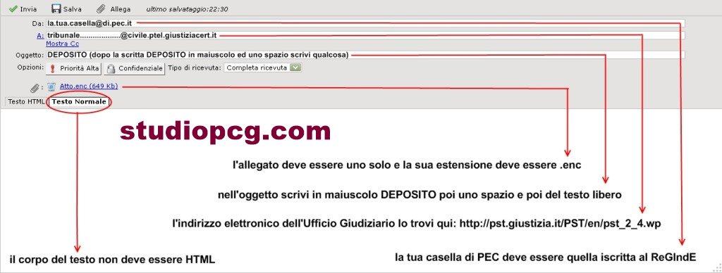 PEC-da-webmail- processo telematico - firma digitale - StudioPCG consulenze immobiliari in firenze - pezzoli e carniani geometri