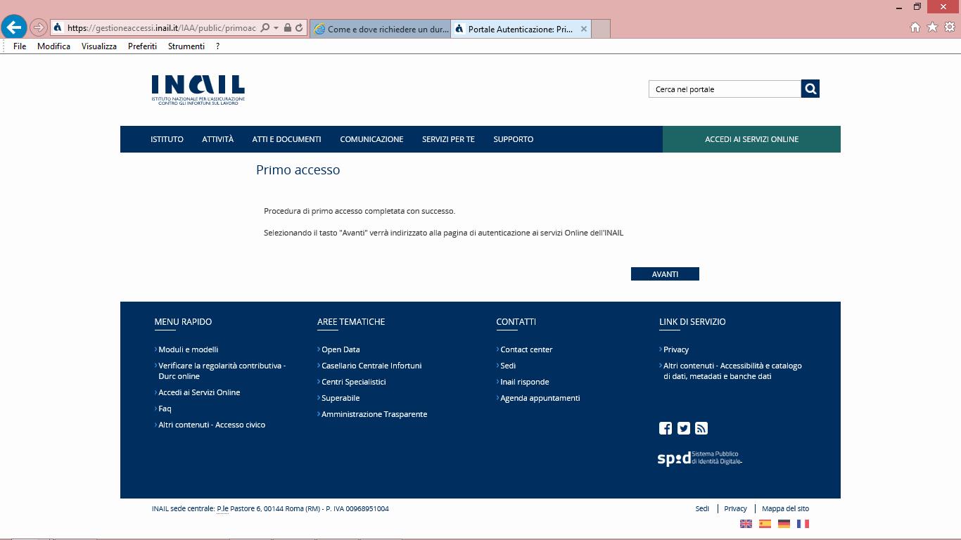 12 inail-minguida accesso inail per durc online telematico - studiopcg, consulenze immobiliari in firenze, pezzoli e carniani geometri