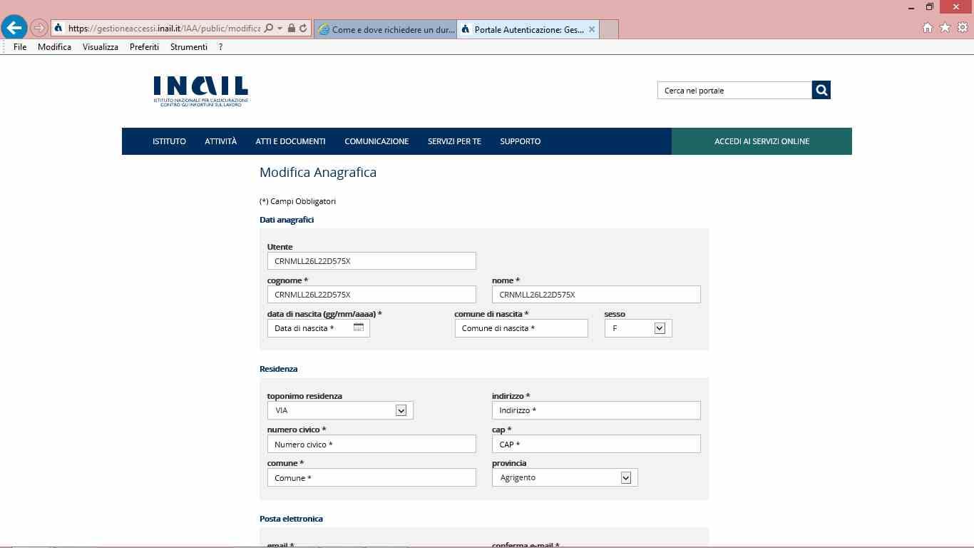 7 inailguida accesso inail per durc online telematico - studiopcg, consulenze immobiliari in firenze, pezzoli e carniani geometri